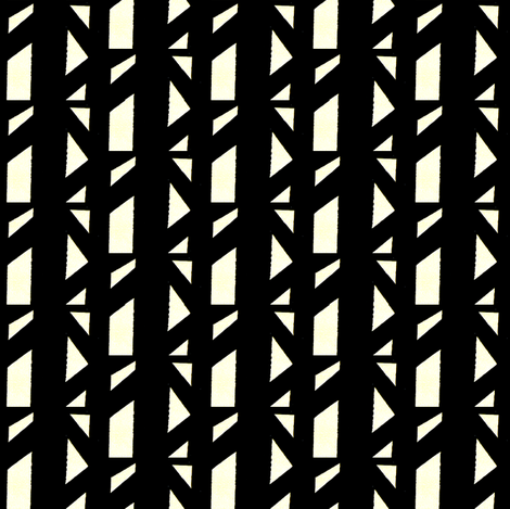 Marsman Black & White fabric by stoflab on Spoonflower - custom fabric