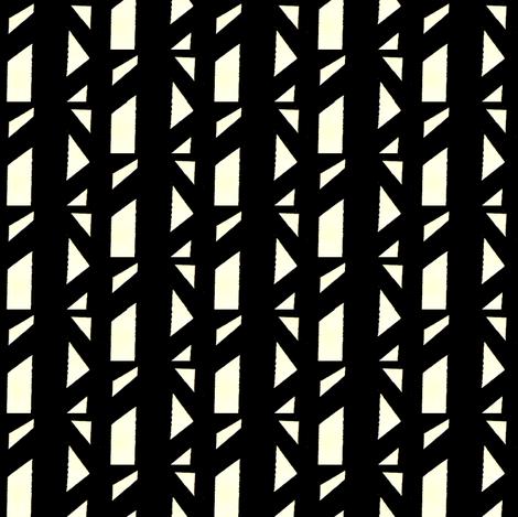 Marsman Black & White fabric by stoflab on Spoonflower - custom fabric