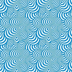 Psychedelic Zebra Blue