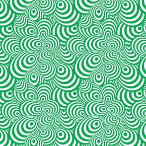 Psychedelic Zebra Green