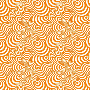 Psychedelic Zebra Orange