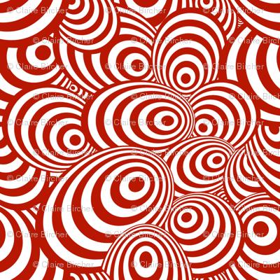 Psychedelic Zebra Red