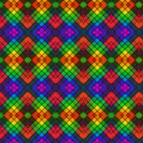 Rainbow Argyle