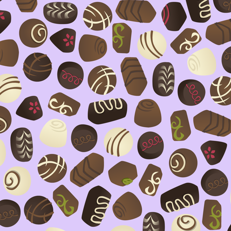 Bonbon Bonanza fabric by elainethebrain on Spoonflower - custom fabric