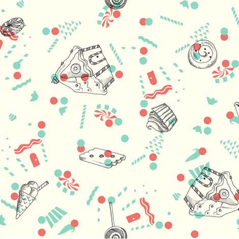 Gretel's Dream fabric by estrella_de_anis on Spoonflower - custom fabric