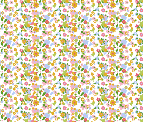 vintage 8 fabric by kategabrielle on Spoonflower - custom fabric