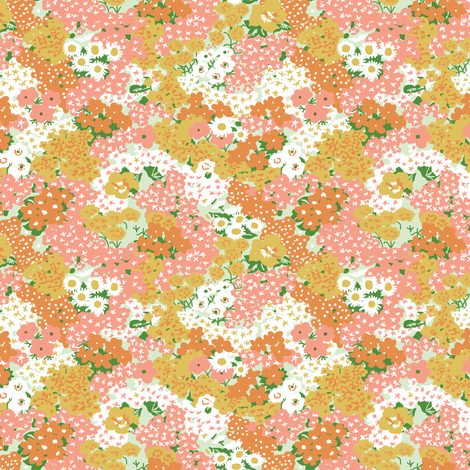 vintage 9 fabric by kategabrielle on Spoonflower - custom fabric