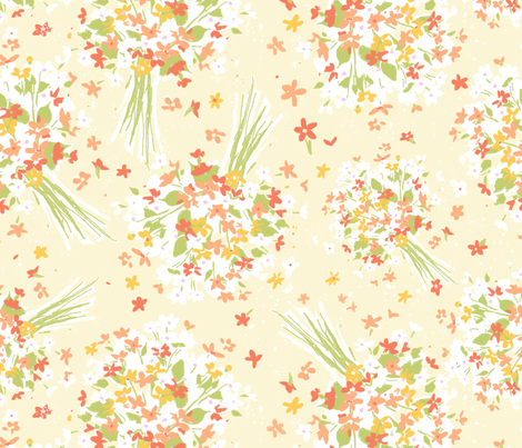vintage 10 fabric by kategabrielle on Spoonflower - custom fabric