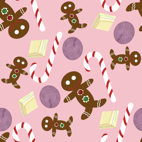 The Sweet Nutcracker Suite fabric by peacoquettedesigns on Spoonflower - custom fabric