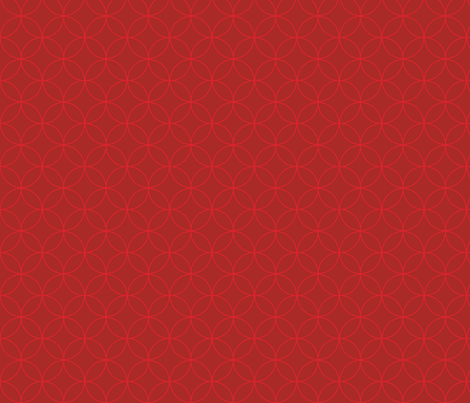 Graphic Circles Red - Small