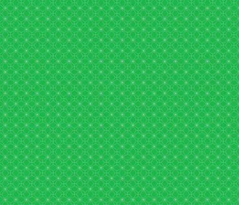 graphic snowflakes green small fabric by tinag on Spoonflower - custom fabric