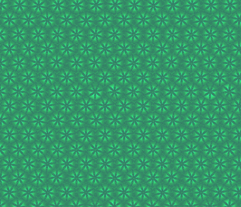 swirley_jingle_greens fabric by glimmericks on Spoonflower - custom fabric