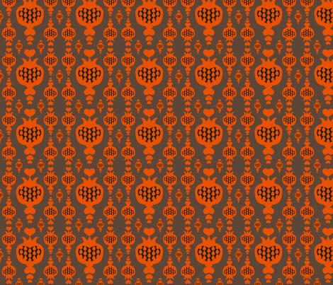SF_liebesapfel_muster_AB_rost fabric by schraegerfuerst on Spoonflower - custom fabric