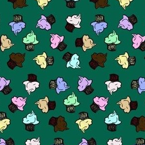 Tumbling Cupcakes
