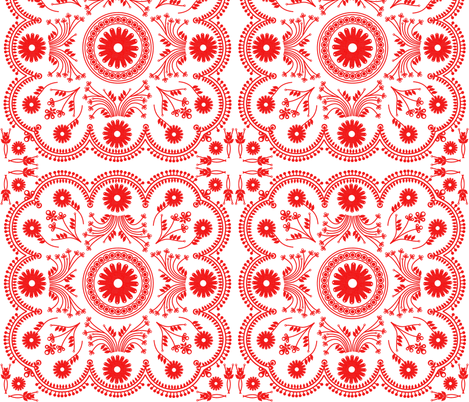 Eiffeltilereblock fabric by bussybuffu on Spoonflower - custom fabric