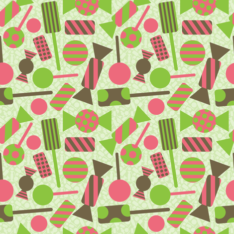 Sweet Treat  fabric by jlwillustration on Spoonflower - custom fabric