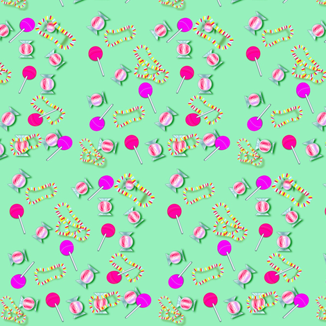 Stevies Sweeties fabric by chovy on Spoonflower - custom fabric