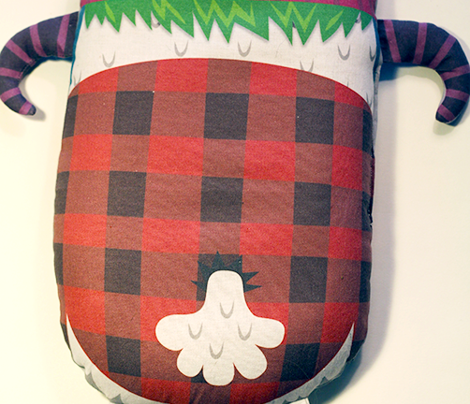 Two-Horned Jack: A Cut and Sew Yeti