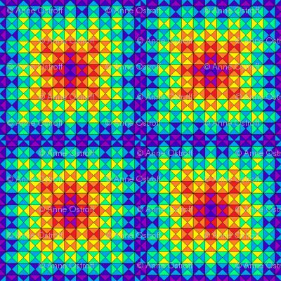 Rainbow quilt 1