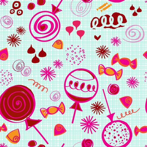 Sugar Buzz fabric by fable_design on Spoonflower - custom fabric