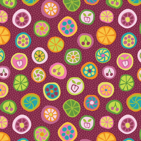 Candy_is_Dandy fabric by groovity on Spoonflower - custom fabric