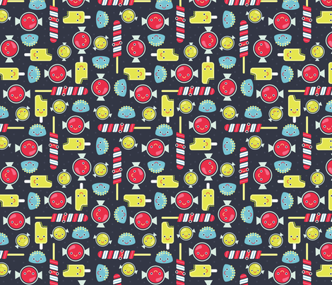 Tasty Tiny Sweets fabric by elizabethdoyle on Spoonflower - custom fabric