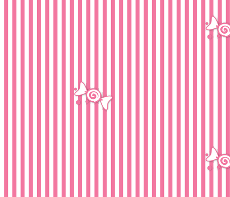 Candy Stripes fabric by artsycanvasgirl on Spoonflower - custom fabric