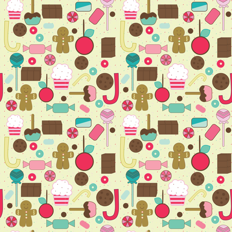 SpoonFlowerSweetTreats12112012 fabric by sbd on Spoonflower - custom fabric