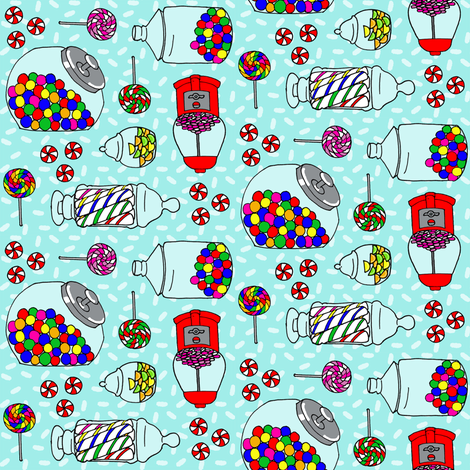 Penny Candy fabric by holly_helgeson on Spoonflower - custom fabric