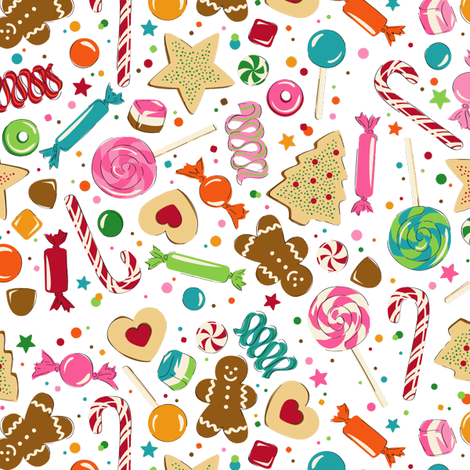 Sweets Dreams fabric by minimiel on Spoonflower - custom fabric