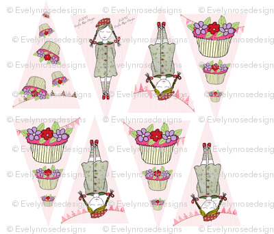 Cupcake Collection Bunting