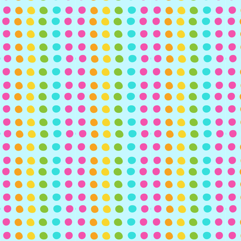 SUGAR RUSH dots fabric by bzbdesigner on Spoonflower - custom fabric