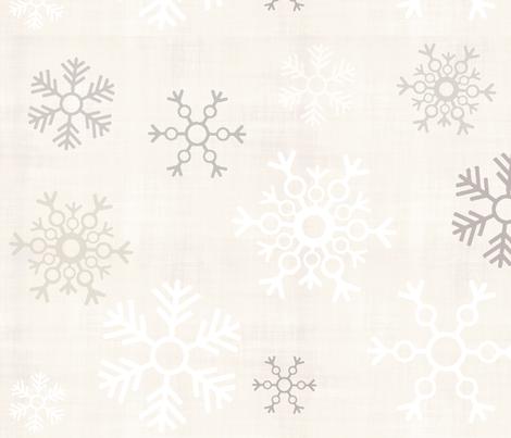 snowflakes-n-glitter fabric by firki on Spoonflower - custom fabric