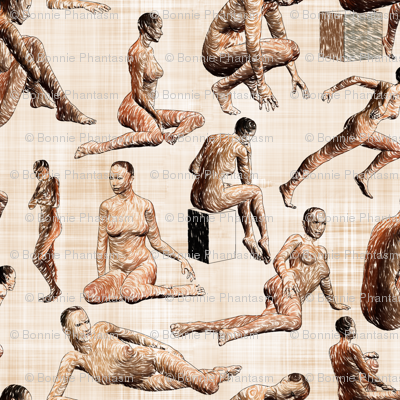 Female Anatomy Sketches