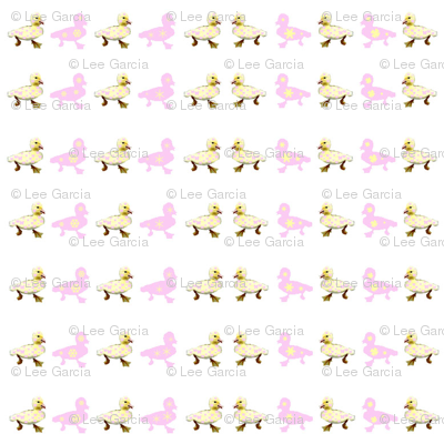 Ducklings_and_Snowflakes