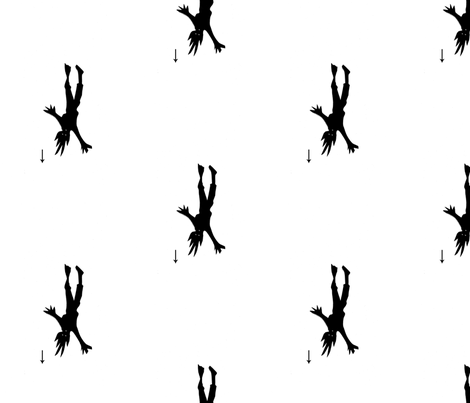 Falling Man fabric by boris_thumbkin on Spoonflower - custom fabric