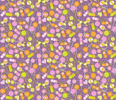 Sweets4 fabric by paula's_designs on Spoonflower - custom fabric
