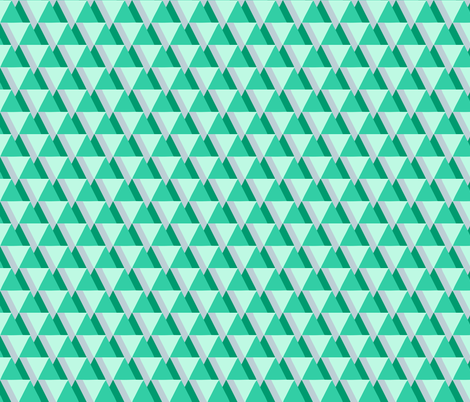 bermuda green fabric by myracle on Spoonflower - custom fabric
