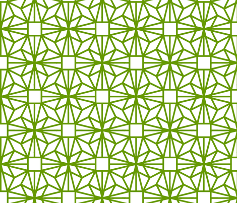 Diamond (darkgreen) fabric by pattern_bakery on Spoonflower - custom fabric