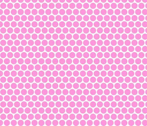 Milledotti (pink) fabric by pattern_bakery on Spoonflower - custom fabric