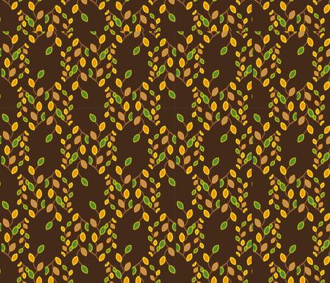autumn leaves fabric by mehdimashayekhi on Spoonflower - custom fabric