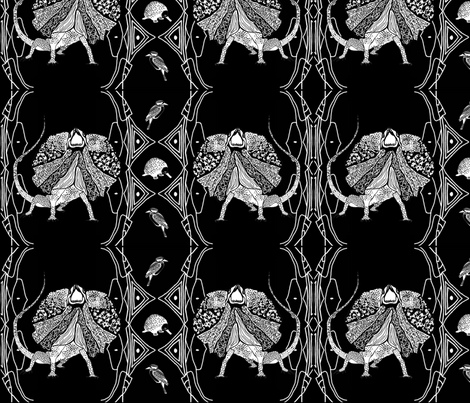 Australian Animals fabric by animotaxis on Spoonflower - custom fabric