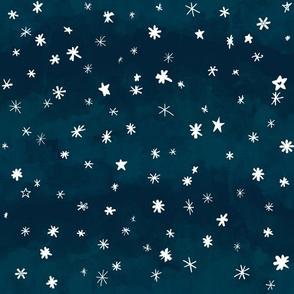 Snowfall & Falling Stars