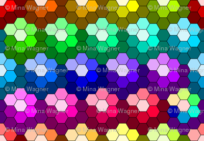 Grandmother's Flower Garden - bright - 2012-Spoonflower colorguide colors