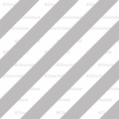 Diagonal Stripe Chinchilla