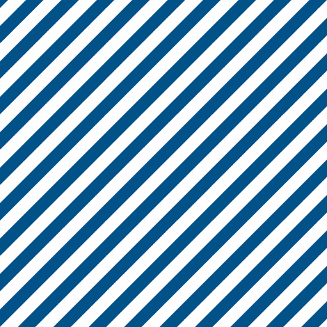 Diagonal Stripe Navy fabric by honey&fitz on Spoonflower - custom fabric