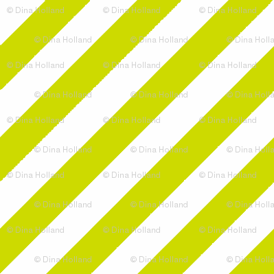 Diagonal Stripe Lime