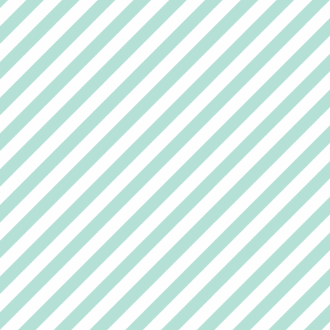 Diagonal Stripe Mint fabric by honey&fitz on Spoonflower - custom fabric