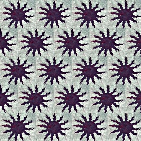 Batik Purple Sun fabric by hooeybatiks on Spoonflower - custom fabric