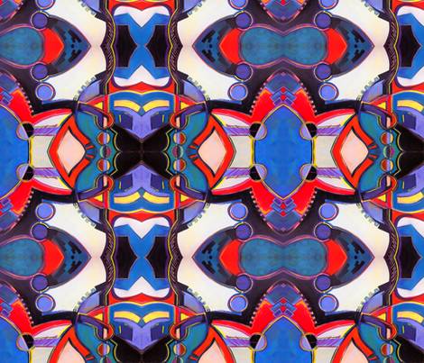 Geogear fabric by lfreud on Spoonflower - custom fabric